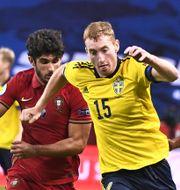 Dejan Kulusevski mot Portugal. Claudio Bresciani/TT / TT NYHETSBYRÅN