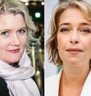 Lena Rådström Baastad, Annika Strandhäll och Susanna Gideonsson TT