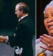 Toni Morrison tar emot Nobelpriset 1993/Morrison. TT