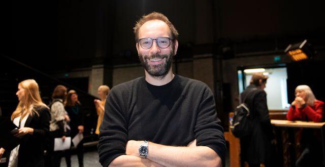 Alexander Mørk-Eidem. Karin Wesslén / TT / TT NYHETSBYRÅN