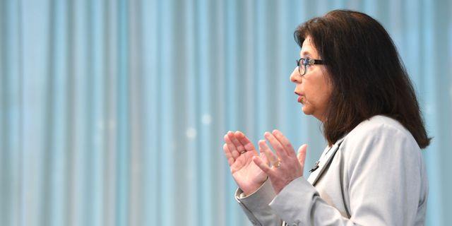 Maria Mindhammar, generaldirektör för Arbetsförmedlingen. Fredrik Sandberg/TT / TT NYHETSBYRÅN