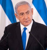Benjamin Netanyahu. Sebastian Scheiner / TT NYHETSBYRÅN