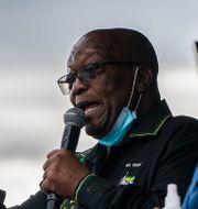 Sydafrikas ex-president Jacob Zuma.  Shiraaz Mohamed / TT NYHETSBYRÅN