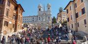 Italien har meddelat att gränserna börjar öppnas den 3 juni. Spanska trappan i Rom/Arkivfoto. Leif R Jansson / TT / TT NYHETSBYRÅN