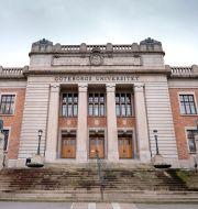 Göteborg Universitets huvudbyggnad. Björn Larsson Rosvall/TT / TT NYHETSBYRÅN