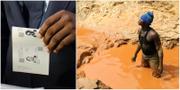 Valet i Kongo / Man i guldgruva i norra Kongo-Kinshasa TT
