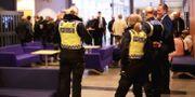 Bild från rättegången mot 16 män med kopplingar till Nordiska motståndsrörelsen (NMR) som deltog i en nazistdemonstration i Göteborg 2017. Adam Ihse/TT / TT NYHETSBYRÅN