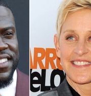 Kevin Hart och Ellen DeGeneres. TT