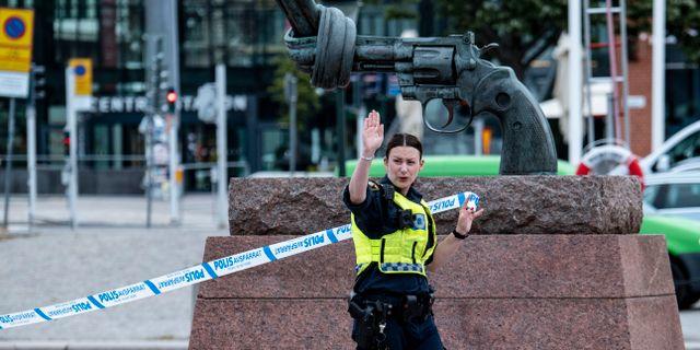 Arkivbild. Polis utanför Malmö C. Johan Nilsson/TT / TT NYHETSBYRÅN