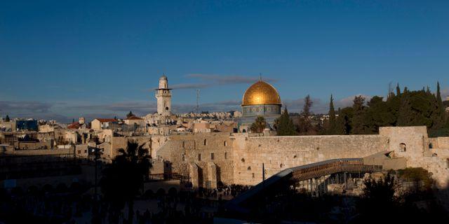 Jerusalem. Ariel Schalit / TT NYHETSBYRÅN