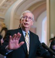 Republikanernas minoritetsledare i senaten Mitch McConnell.  J. Scott Applewhite / TT NYHETSBYRÅN