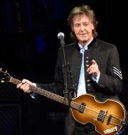 Paul McCartney under ett uppträdande under One on One Tour på Hollywood Casino Amphitheatre i Tinley Park, Illinois. Rob Grabowski / TT NYHETSBYRÅN