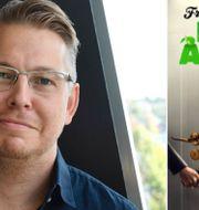 """Fredrik Backmans nya bok """"Folk med ångest"""". TT / Pressbild Forum"""