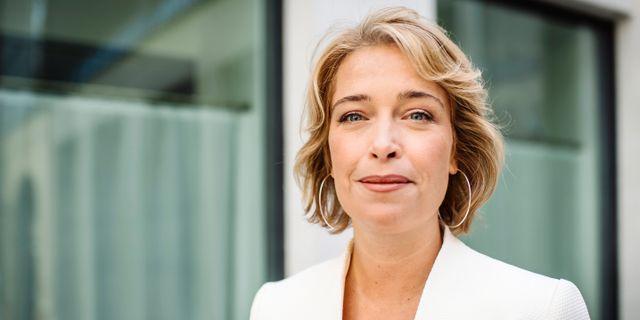 Annika Strandhäll (S). Erik Simander/TT / TT NYHETSBYRÅN