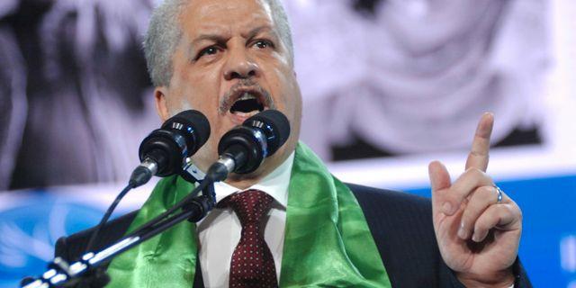 Abdelmalek Sellal Sidali Djarboub / TT NYHETSBYRÅN