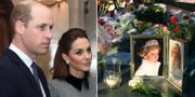 Prins William/Minnesplats för prinsessan Diana. TT