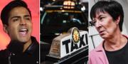 Botström, arkivbild föreställande taxibilar i Stockholm/Mona Sahlin TT