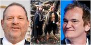 Harvey Weinstein, hober och Quentin Tarantino TT/ AP/Jordan Strauss/Pierre Vinet/Jacques Brinon