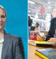 Helena Ekholm och Björn Ferry.  TT.