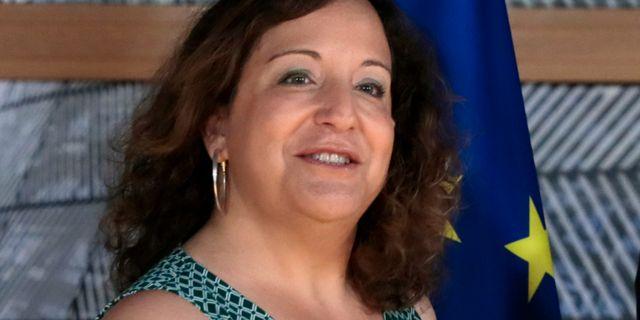 S&P-gruppens ledare Iratxe Garcia Virginia Mayo / TT NYHETSBYRÅN/ NTB Scanpix