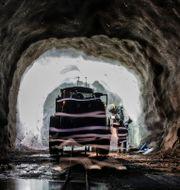 Arkivbild. Interiör från LKAB:s gruva i Malmberget.  Carl-Johan Utsi / TT / TT NYHETSBYRÅN