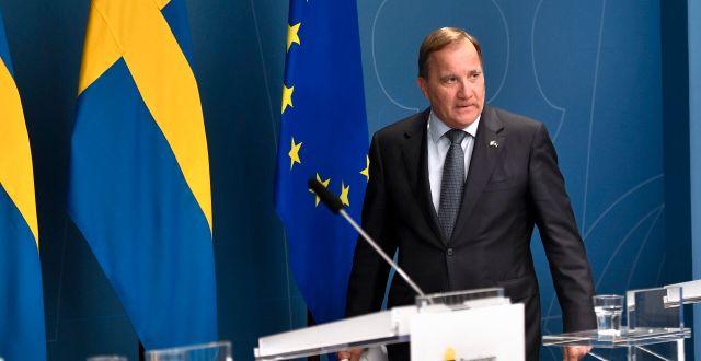 Stefan Löfven (S). ALI LORESTANI/TT / TT NYHETSBYRÅN