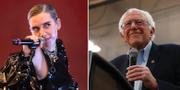 Lykke Li/Bernie Sanders. TT