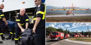 Franska brandmän/Italienskt brandplan/Polska brandbilar TT