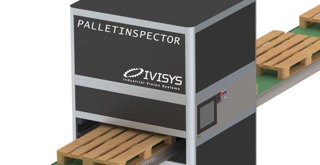 Pressbild. Pallet Inspector  Ivisys