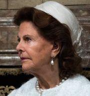 Drottning Silvia. Pontus Lundahl/TT / TT NYHETSBYRÅN