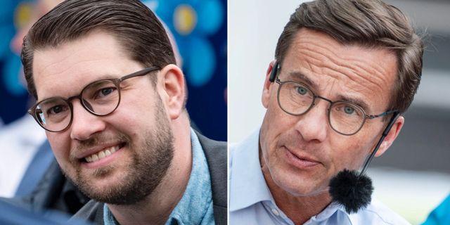 Jimmie Åkesson / Ulf Kristersson.  TT