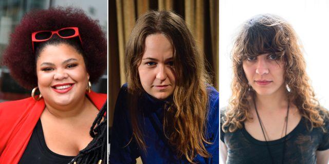 Loulou LaMotte, Alice Boman och initiativtagaren Sibille Attar. TT