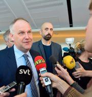 V-ledaren Jonas Sjöstedt Jessica Gow/TT / TT NYHETSBYRÅN