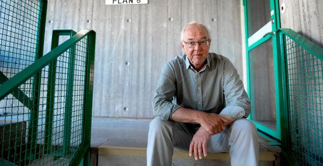Tryckfrihetsexperten Nils Funcke.  Janerik Henriksson/TT / TT NYHETSBYRÅN