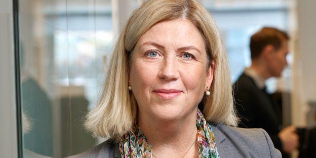 Ulla Sandborgh, generaldirektör Peter Knutson/Svenska Kraftnät
