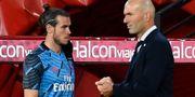 Gareth Bale och Zinedine Zidane. Jose Breton / TT NYHETSBYRÅN