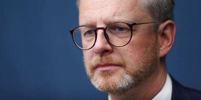 Inrikesminister Mikael Damberg (S).  Christine Olsson/TT / TT NYHETSBYRÅN