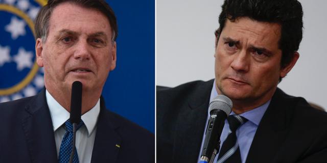 Jair Bolsonaro/Sérgio Moro. TT