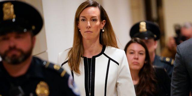 Jennifer Williams, säkerhetsrådgivare till Mike Pence, ska höras i riksrättsutredningen.  J. Scott Applewhite / TT NYHETSBYRÅN