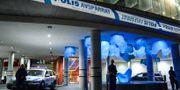 Polisen utanför Skånes universitetssjukhus i Malmö. Arkivbild. Johan Nilsson/TT / TT NYHETSBYRÅN