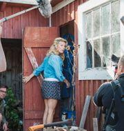 Christine Meltzer spelar in komediserie för Kanal 5, 2016.  Stina Stjernkvist/TT / TT NYHETSBYRÅN