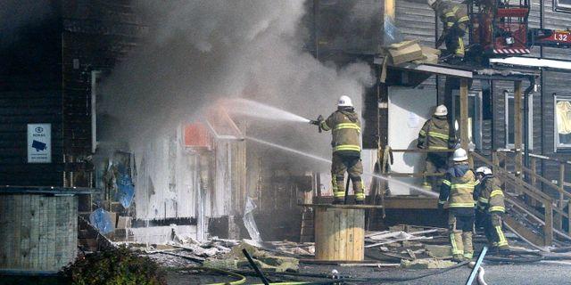 Brander i sodra frankrike troligen anlagda