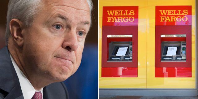 Wells Fargos tidigare vd John Stumpf. Arkivbilder. TT