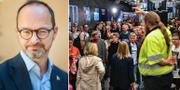 Tomas Eneroth/Arkivbild från Malmö centralstation. TT