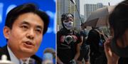 Yang Guang / Maskerade demonstranter TT