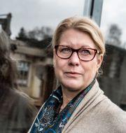 Catharina Elmsäter-Svärd, vd för Byggföretagen.. Lars Pehrson/SvD/TT / TT NYHETSBYRÅN