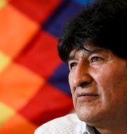 Evo Morales. Natacha Pisarenko / TT NYHETSBYRÅN