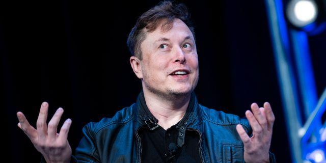 Elon Musk, vd för Tesla. BRENDAN SMIALOWSKI / TT NYHETSBYRÅN