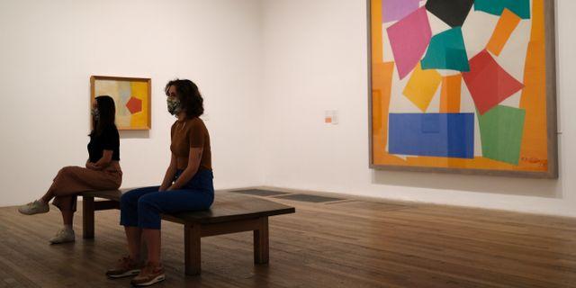 Utställning på Tate Modern, London/Arkivbild.  Alastair Grant / TT NYHETSBYRÅN