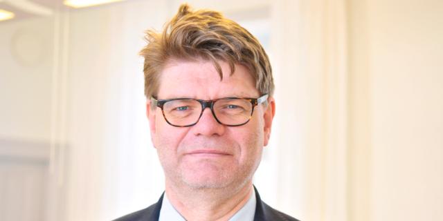 Björn Zoëga, sjukhusdirektör på Karolinska. Karolinska universitetssjukhuset